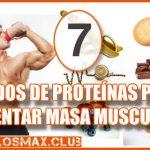 7 Ricos Batidos de Proteínas para aumentar masa muscular ¡Pruébalos!