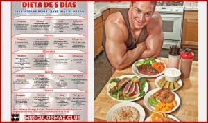 Dieta para subir de peso y ganar masa muscular