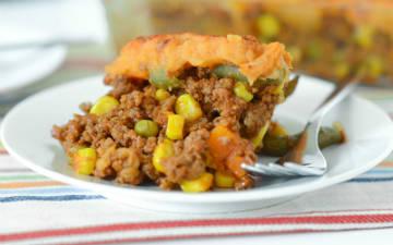 comidas ricas en proteinas_pastel de carne y batatas