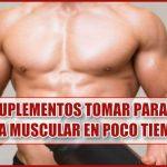 ¿Qué Suplementos tomar para Ganar Masa Muscular rápido?