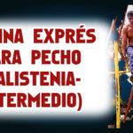 Rutina Exprés para Pectorales (Calistenia Intermedio)
