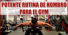 Rutina de Hombro para el Gym