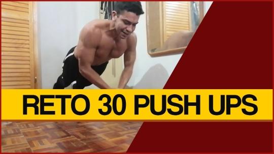 Reto 1 - 30 Push Ups con 5 Variantes