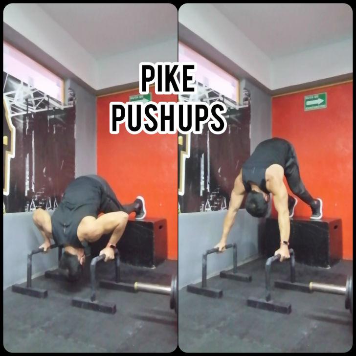 Pike Push Ups