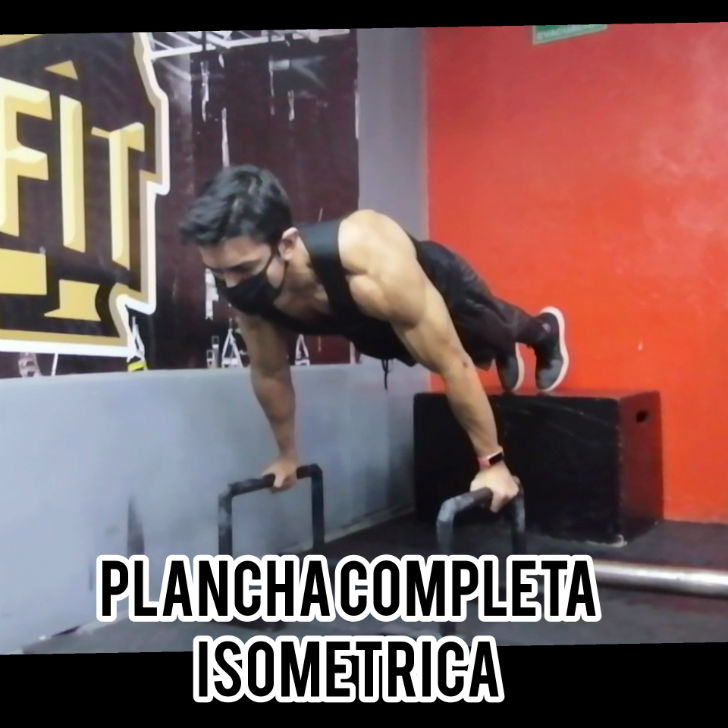 Plancha Completa Isométrica