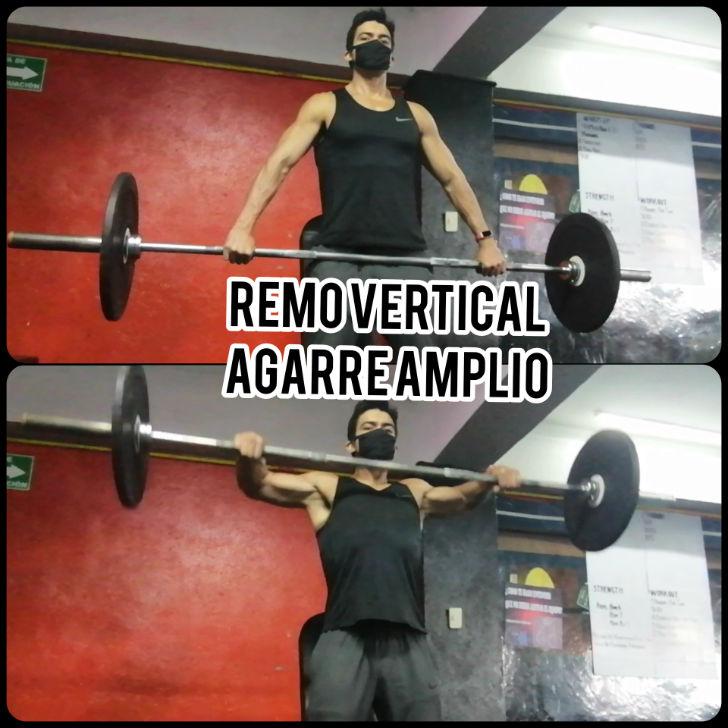 Remo Vertical con Agarre Amplio